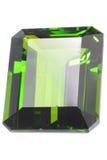 szmaragdu rżnięty kamień Obraz Royalty Free