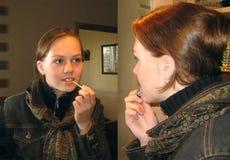 szminka dziewczyny Zdjęcie Stock
