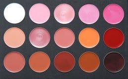 szminki paleta Zdjęcie Stock