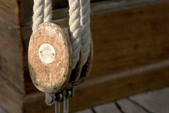 sznur łodzi Zdjęcia Royalty Free