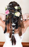 sznurków pann młodych róże Obrazy Royalty Free