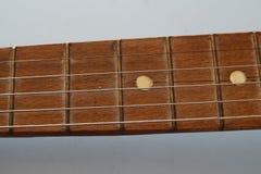 Sznurki na gitarze zdjęcia stock