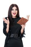 szokująca czarownica Zdjęcia Stock