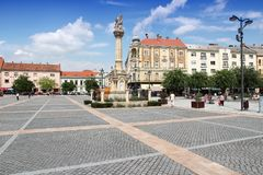 Szombathely,匈牙利 免版税库存图片