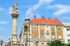 Szombathely, Hungary. City in Western Transdanubia region. Old town view with Royalty Free Stock Image