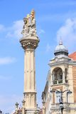 Szombathely, Hungary. City in Western Transdanubia region. Old town view Stock Photography