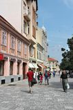 Szombathely street view stock images
