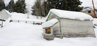 szopy śnieg Zdjęcia Stock