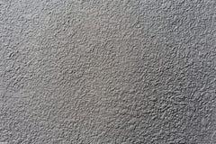 Szorstka betonowa tekstura malująca z zmroku popielatym kolorem Obrazy Stock