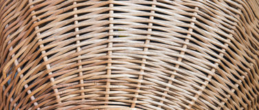 Szorstka galonowa słomiana koszykowa tekstura obraz royalty free