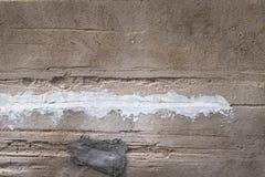 Szorstka i narys cementu ściany tła tekstura Zdjęcia Royalty Free
