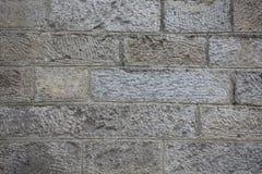 Szorstka kamiennej ściany tekstura Obraz Royalty Free