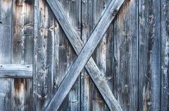 Szorstka stara wyblakła drewniana tekstura Fotografia Royalty Free