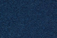 Szorstka strona błękitna gąbka obraz stock