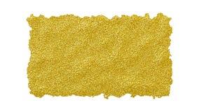 Szorstka tarta krawędź drzejący złoty glansowany papier dla kreatywnie projektów royalty ilustracja