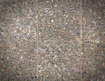 Szorstka tekstury powierzchnia odsłonięty łączny koniec, ziemi kamień myjąca podłoga, robić mały piaska kamień w jasnobrązowym ko zdjęcia stock