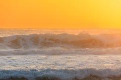 Szorstka woda Pacyficzny ocean Obraz Stock
