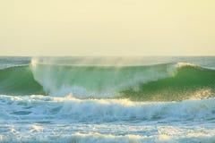 Szorstka woda Pacyficzny ocean Fotografia Stock