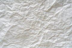 Szorstki białego papieru tekstury tło obrazy stock