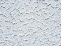 szorstki biel ściany tło Obrazy Stock