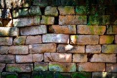 Szorstki ściana z cegieł Obrazy Royalty Free