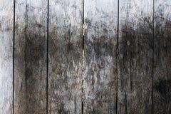Szorstki grungy popielaty drewniany podłogowy fotografii tło Nieociosany drewniany deski zbliżenie Zdjęcia Stock