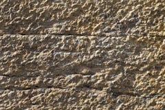 Szorstki kamienny tekstury tło w ścianie Zdjęcie Royalty Free