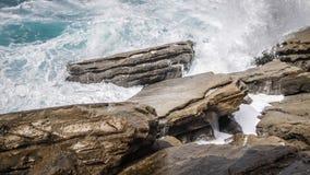 Szorstki morze Obrazy Royalty Free