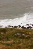 szorstki seascape Zdjęcia Royalty Free