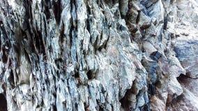 Szorstki Skalisty Textured iłołupka wychód zdjęcie stock