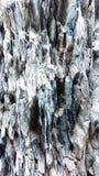 Szorstki Skalisty Textured iłołupka wychód zdjęcia stock