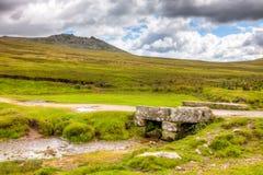 Szorstki Tor Bodmin Cumuje Cornwall Zdjęcie Royalty Free