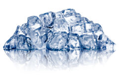 Szorstki zdruzgotany lodowy rozsypisko zdjęcie royalty free