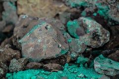 Szorstkie textured sztywno geographical skały fotografia royalty free