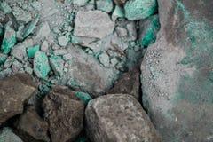 Szorstkie textured sztywno geographical skały obraz stock