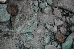 Szorstkie textured sztywno geographical skały zdjęcia stock