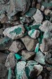 Szorstkie textured sztywno geographical skały obrazy stock