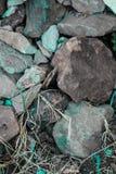 Szorstkie textured sztywno geographical skały fotografia stock