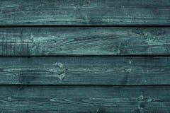 Szorstkie zielone drewniane deski Wietrzejąca ciemna drewniana podłoga, stajnia, niszczył ogrodzenie Twarde drzewo tekstury grung fotografia stock