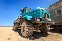 Szorstkiego terenu ciężarówka obraz royalty free