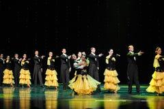 Szpaltowego interludium Francuskiego kankanu Austria światowy taniec zdjęcie royalty free