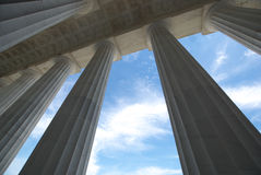 szpaltowy filar Fotografia Royalty Free