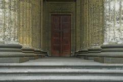 Szpaltowy galerii wejście Zdjęcia Stock