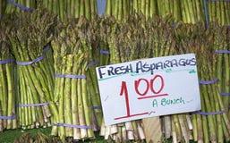 szparagi świeże Zdjęcie Royalty Free