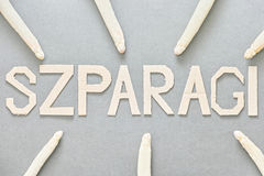Szparagi Stock Image