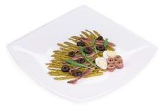 Szparagowa sałatka Zdjęcie Stock