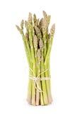 szparagowego tła odosobniony biel Zdjęcia Stock