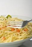 szparagowy świeży naturalny kumberlandu spaghetti pomidor Zdjęcia Stock