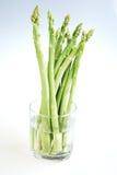 szparagowy świeży zielony biel Obraz Royalty Free