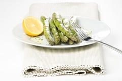 szparagowy świeży zielony naturalny Obraz Royalty Free